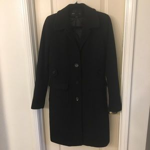 ⛄️10T lined thick Trench coat 3 button front, EUC